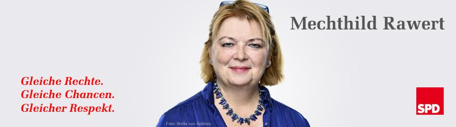 Mechthild Rawert - Im Bundestag für Tempelhof-Schöneberg